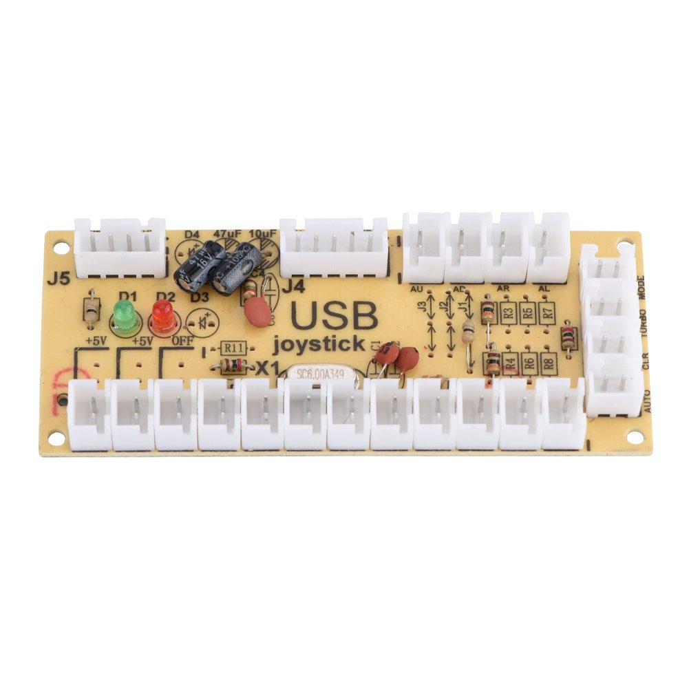 Eboxer Arcade Kit USB Arcade Piezas Joystick + Botón Color Kits Controlador de Juego DIY: Amazon.es: Electrónica