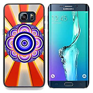 - Design Abstract Eye/ Hard Snap On Cell Phone Case Cover - Cao - For Samsung Galaxy S6 Edge Plus