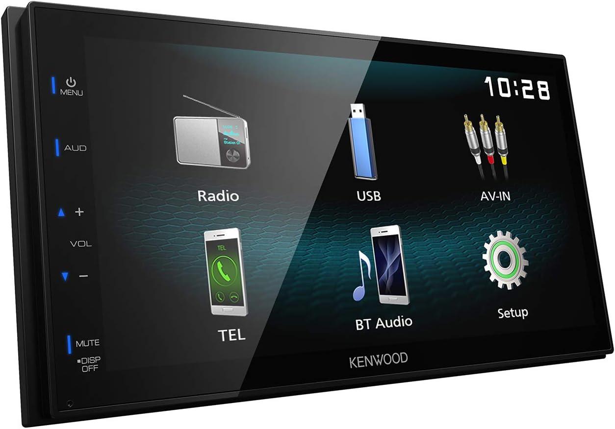 "Kenwood DMX120BT Digital Multimedia Receiver with 6.8"" WVGA Display"