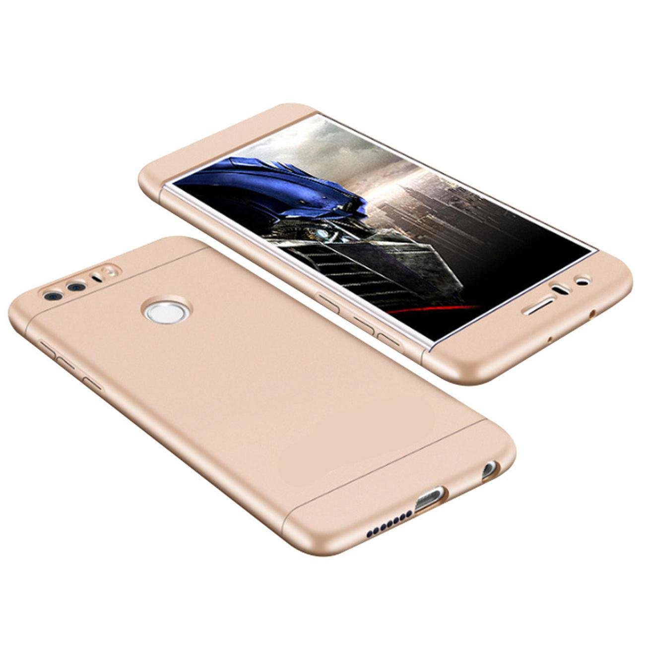 Huawei Honor 8 Carcasa 3 en 1 Bumper ultra delgado Carcasa ...