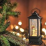 DRomance Music Lighted Snow Globe Lantern Water
