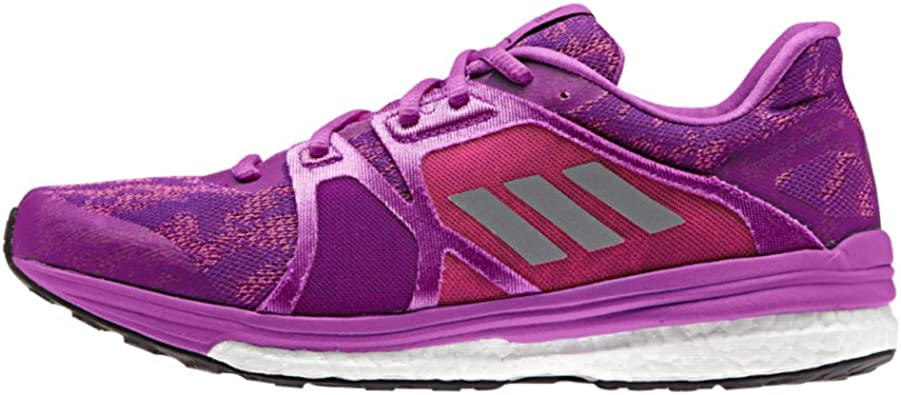 vegetariano Goma consultor  Amazon.com | adidas Supernova Sequence 9 Womens Running Shoe 5.5  Purple/Silver Metallic/Shock Pink | Road Running