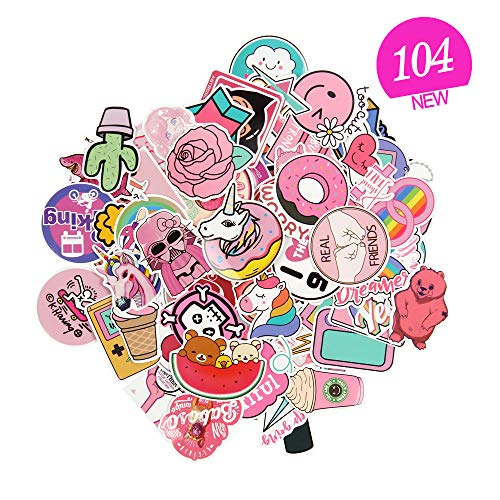 <span style=''>[해외]Sticker Decals - Pink Sticker Pack Vinyl Stick..</span>