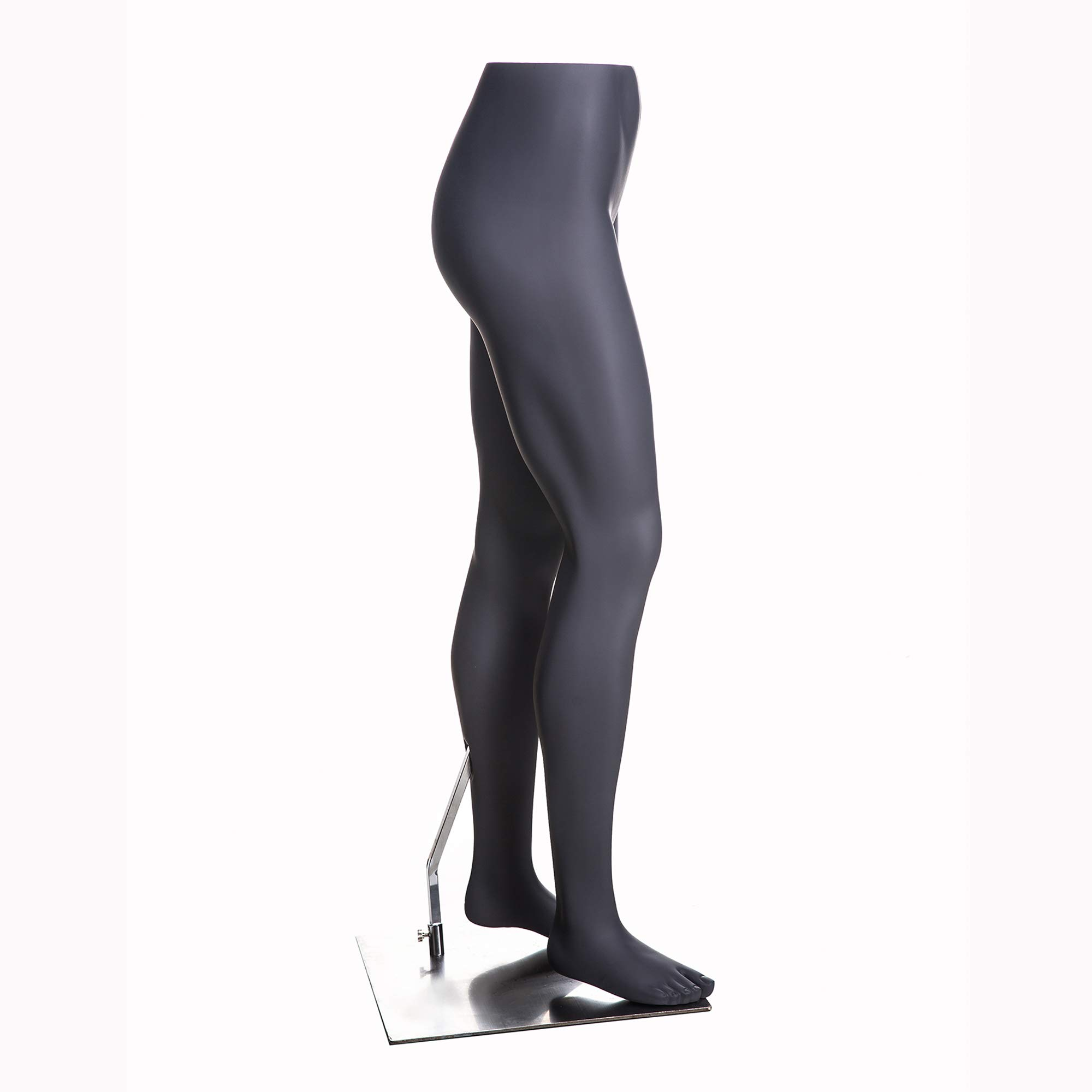 (MZ-HEF22LEG) High end Quality. Eye Catching Female Headless Mannequin Leg, Athletic Style. Standing Pose. by Roxy Display (Image #2)