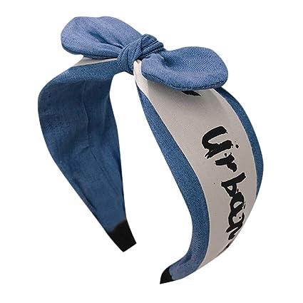 Diademas de la mujer floral print Headwrap Twist nudo pelo ...