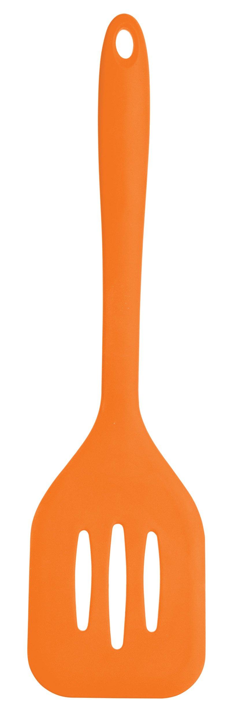 Kitchen Craft Colourworks Silicone Food Turner, 32cm - Orange By Kitchencraft