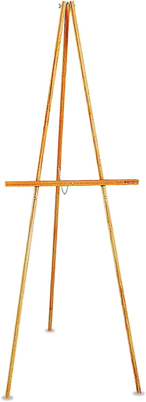 Quartet Lightweight Wood Display Easel, Natural Oak (41E)