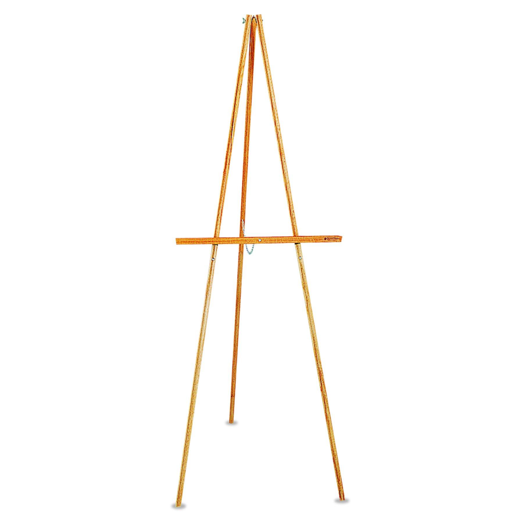 Quartet Lightweight Wood Display Easel, Natural Oak (41E) by Quartet
