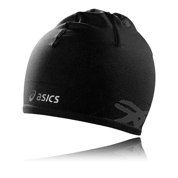 Asics PFM Beanie - Medium Large Black  Amazon.co.uk  Clothing b1728b8a4e8