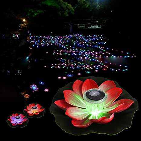 Led Lamps Solar Floating Pond Light Waterproof Color Changing Garden Pool Light For Garden Yard Swimming Pool Fountain Fish Tank As Effectively As A Fairy Does Led Underwater Lights