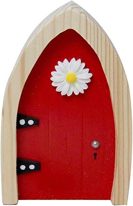 18.5cm Tall ~ MAGICAL WOODLAND FAERIE OPENING DOORS ~ FAIRY SECRET DOOR