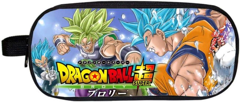Pencil Case Dragon Ball Anime Cuadrado Estuche para lápices Estuches cosméticos para Adolescentes niños Escolares Monedero Bolsas de Maquillaje T: Amazon.es: Hogar