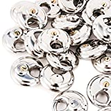 75 Stainless Steel Armor Disc Padlocks Trailer / Self Storage Locks Keyed Alike