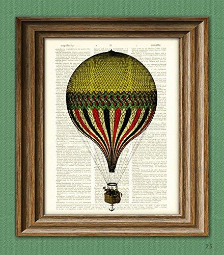 hot air balloon print - 6