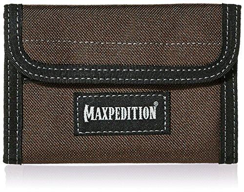 (Maxpedition Spartan Wallet, Dark Brown)