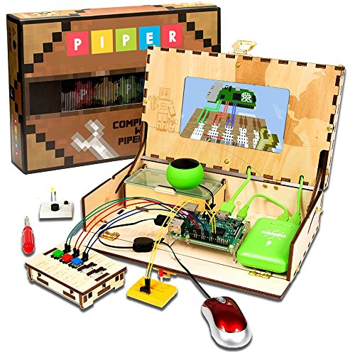 61wrgSZO 2BaL - Piper Computer Kit | with Minecraft Raspberry Pi edition | Educational Computer that Teaches STEM and Coding | Tech Toy of the Year 2017