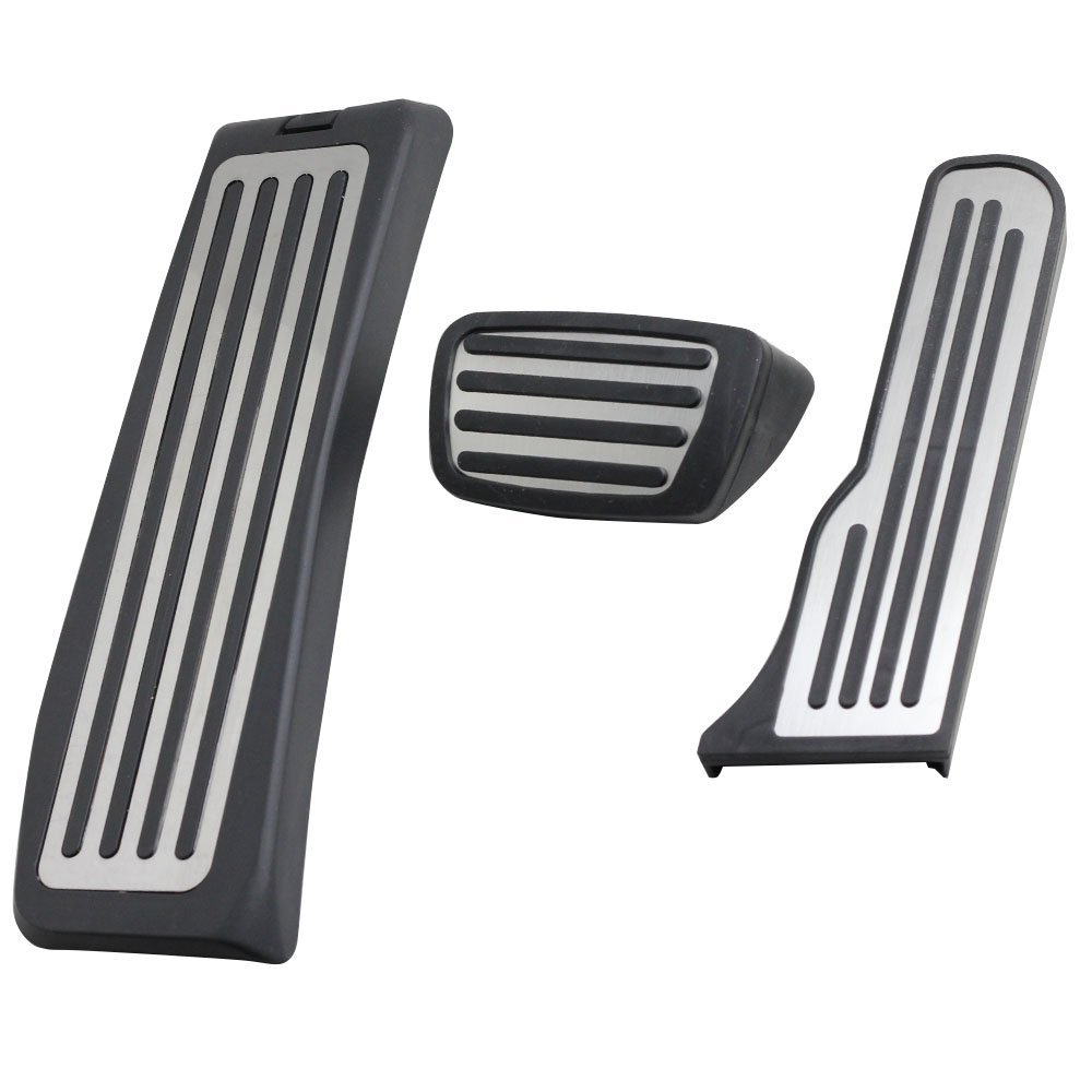 NULLA Stainless Steel No Drilling Foot Rest Pedal Accelerator Pedals Brake Pads for Cadillac ATS 2011-2016 Left-hand Drive Automatic Transmisson DY 16052202