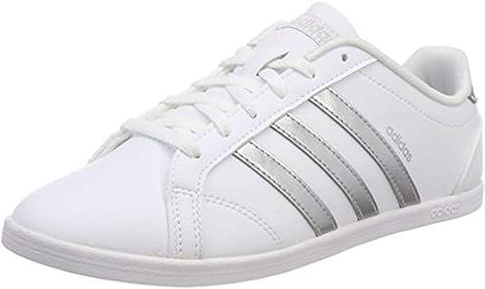 es bonito Papá Descripción del negocio  adidas Coneo Qt, Zapatillas para Mujer, Blanco (Footwear White/Matte  Silver/Footwear White 0), 44 EU: Amazon.es: Zapatos y complementos