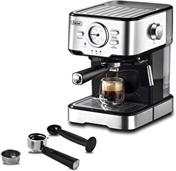 Gevi Aluminum Semi-automatic Espresso Machine Under $400