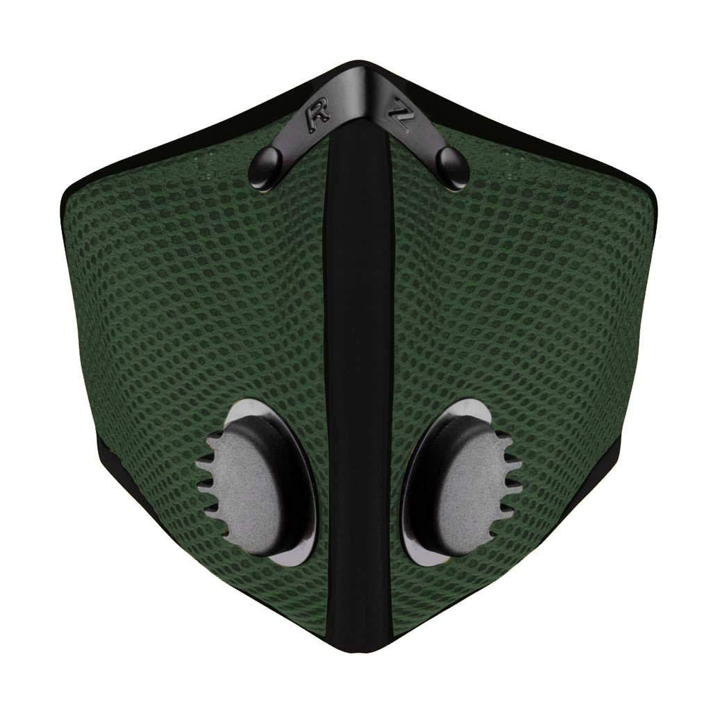 RZ Mask M2 Mask Forest Green (Green, Regular)