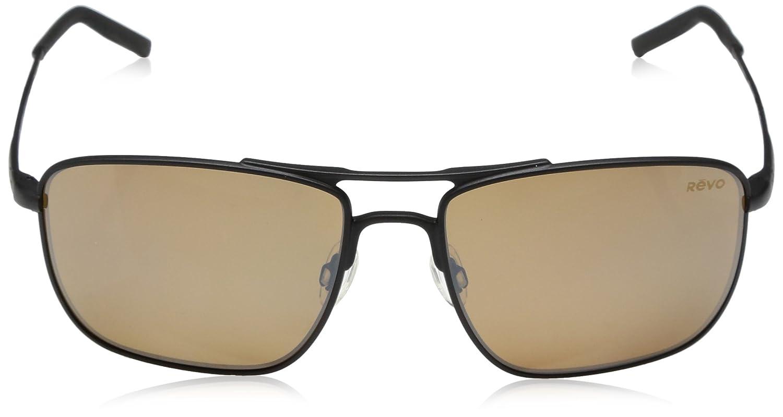 181dc7eec05 Amazon.com  Revo Unisex Unisex RE 3089 Groundspeed Rectangular Polarized UV  Protection Sunglasses  Clothing