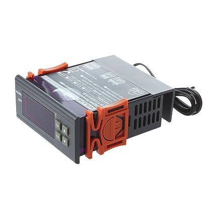 Termostato - SODIAL(R)LCD pantalla 220V Controlador de temperatura digital Regulador de temperatura