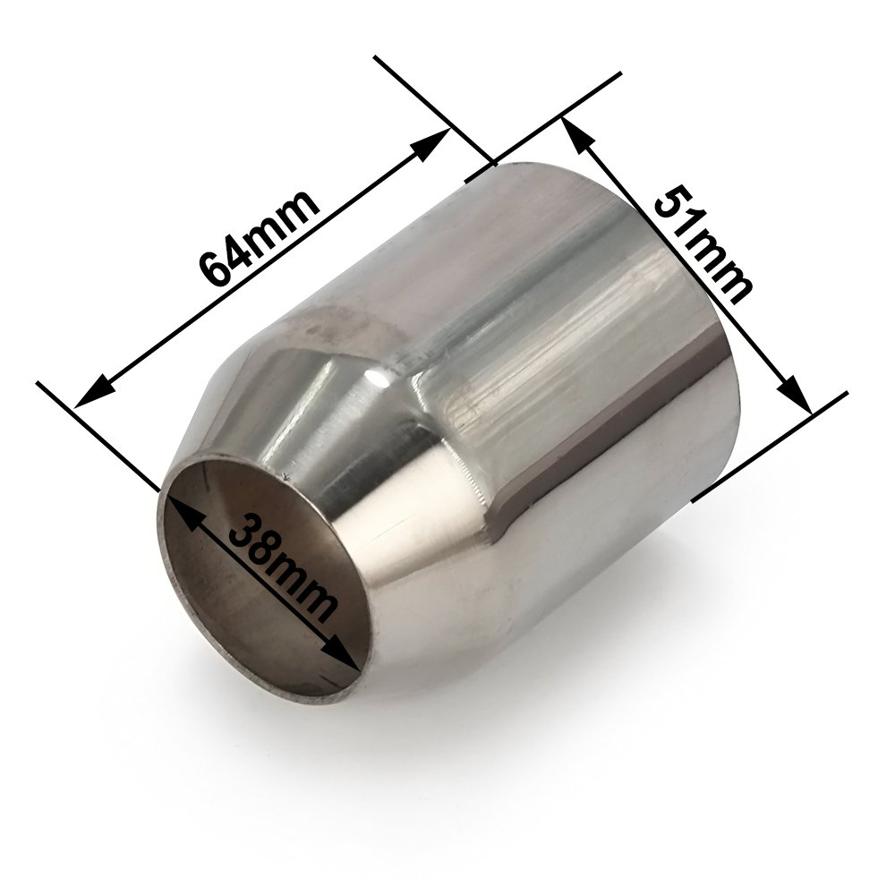 Sistema completo Fast Pro silenciador para tubo de escape de motocicletas.