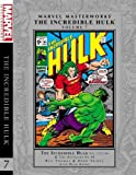 img - for Marvel Masterworks: The Incredible Hulk - Volume 7 book / textbook / text book