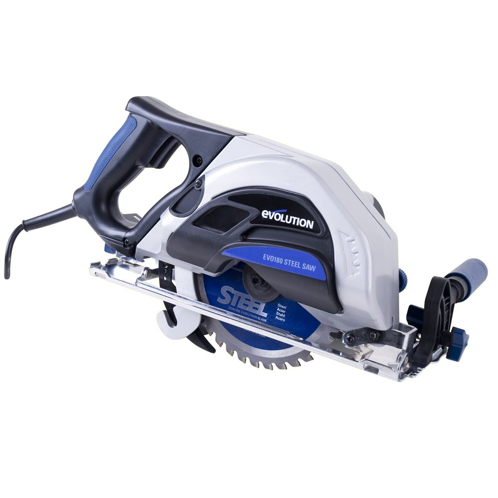 Evolution EVOSAW180HD 7-1/4-Inch Steel Cutting Circular Saw