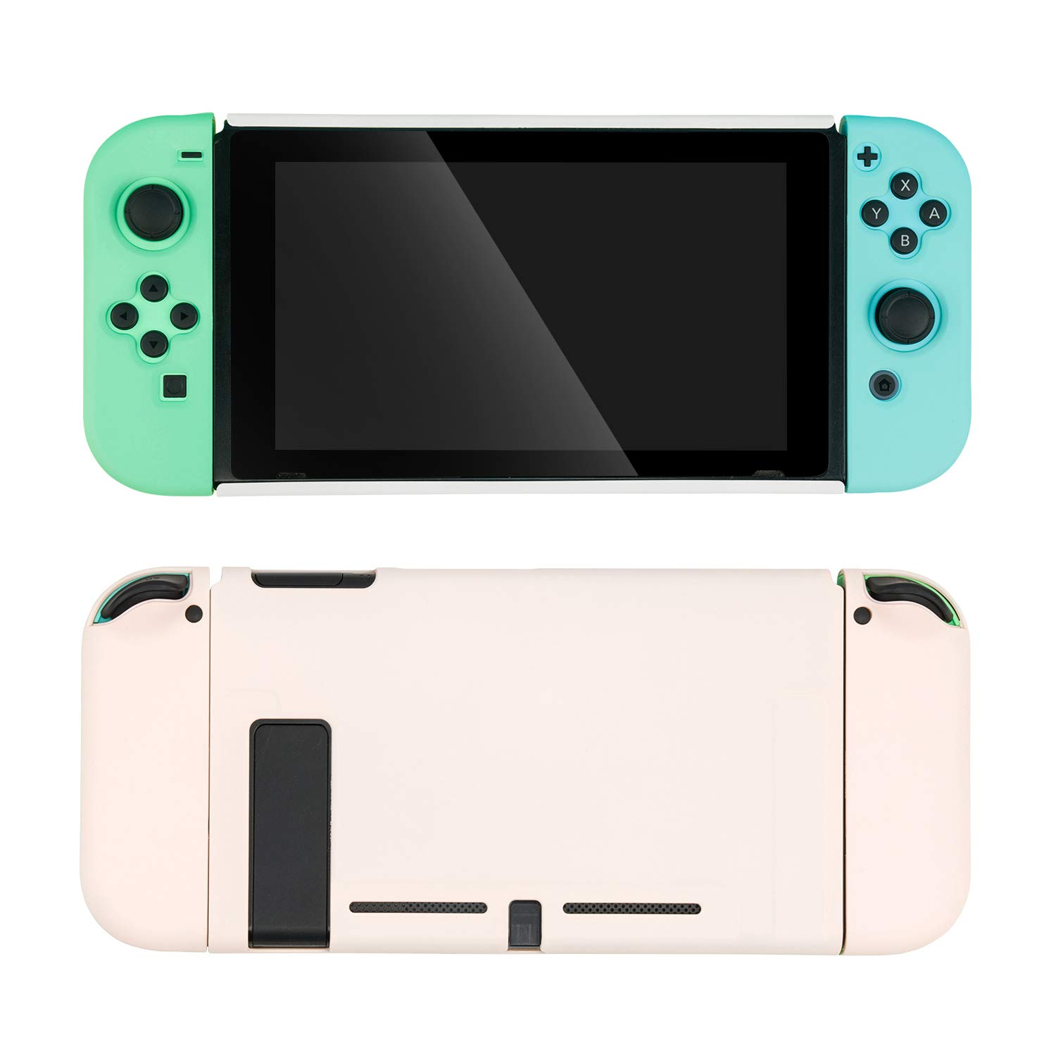 GeekShare Protective Case for Nintendo Switch and Joy Con, Animal Crossing New Horizons Accessories Slim Cover Case- Shock-Absorption and Anti-Scratch