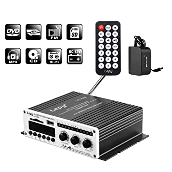 Amazon.com: nktech 3 A Cargador LEPY lp-v9s Hi-Fi estéreo ...