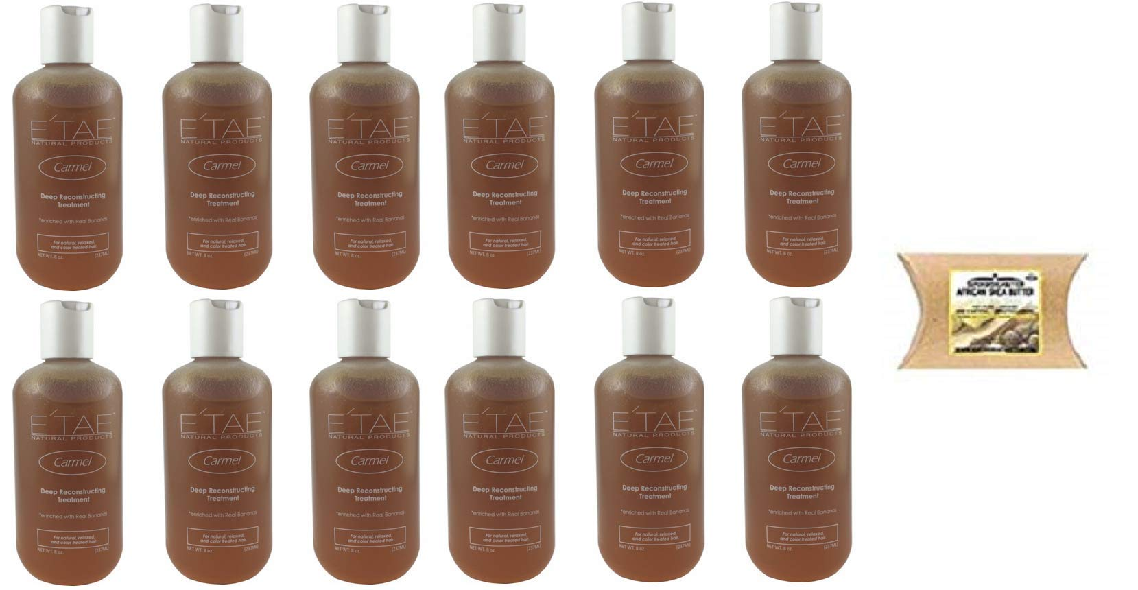 E'TAE Natural Products - Carmel Deep Reconstructing Treatment 8oz (12PACK)