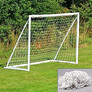 New Portable 6' x 4' Football Net for Soccer Goal Outdoor Kids Sports Training