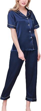 Dolamen Pijamas Camisón para Mujer, Mujer Largo ...