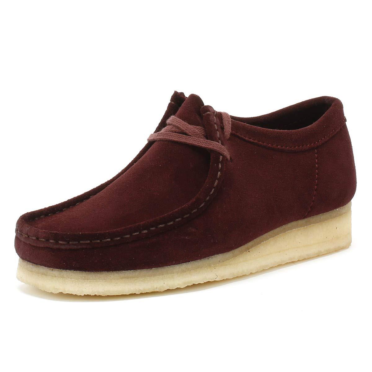 Clarks - Originals Wallabee Schuhe Bordeaux - Clarks 0ec631