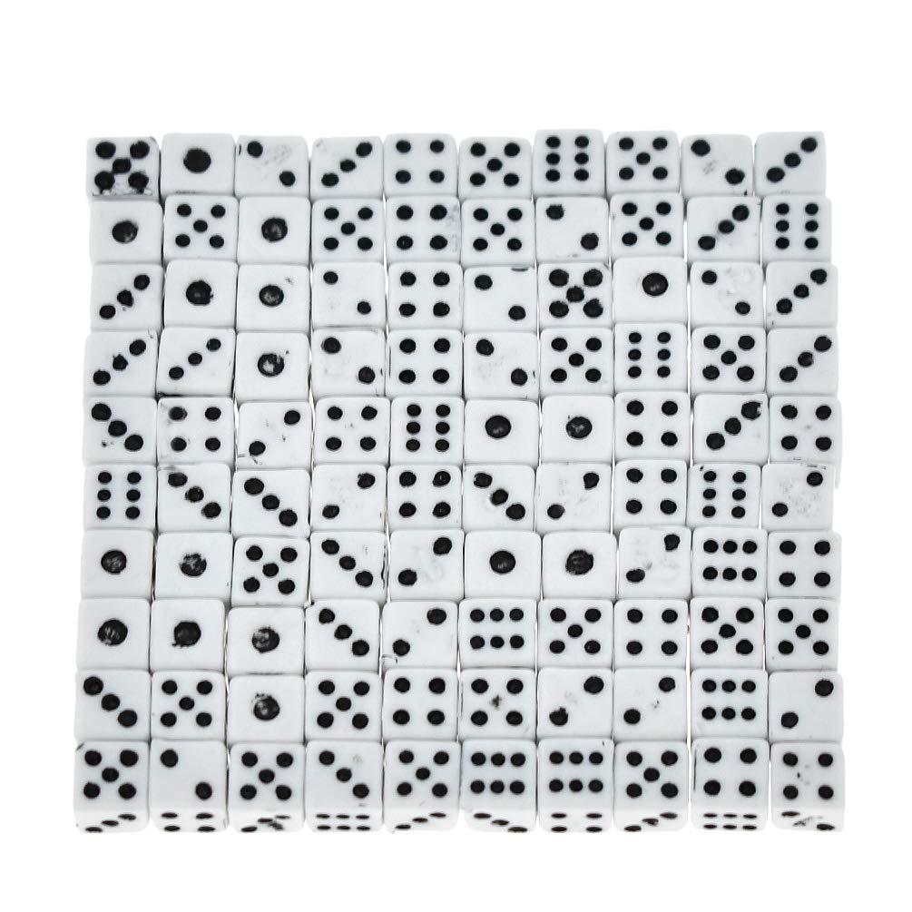 【送料込】 Kesheng 100ピース 100ピース 5mm ミニドット スクエアキューブダイスセット Kesheng パーティーフェイバーボードゲーム 5mm 5mm ブラック J506GO03N48W7E09H0M7ZTWI B07M95CJNJ 5mm ホワイト ホワイト 5mm, 智頭町:3ec47356 --- arianechie.dominiotemporario.com