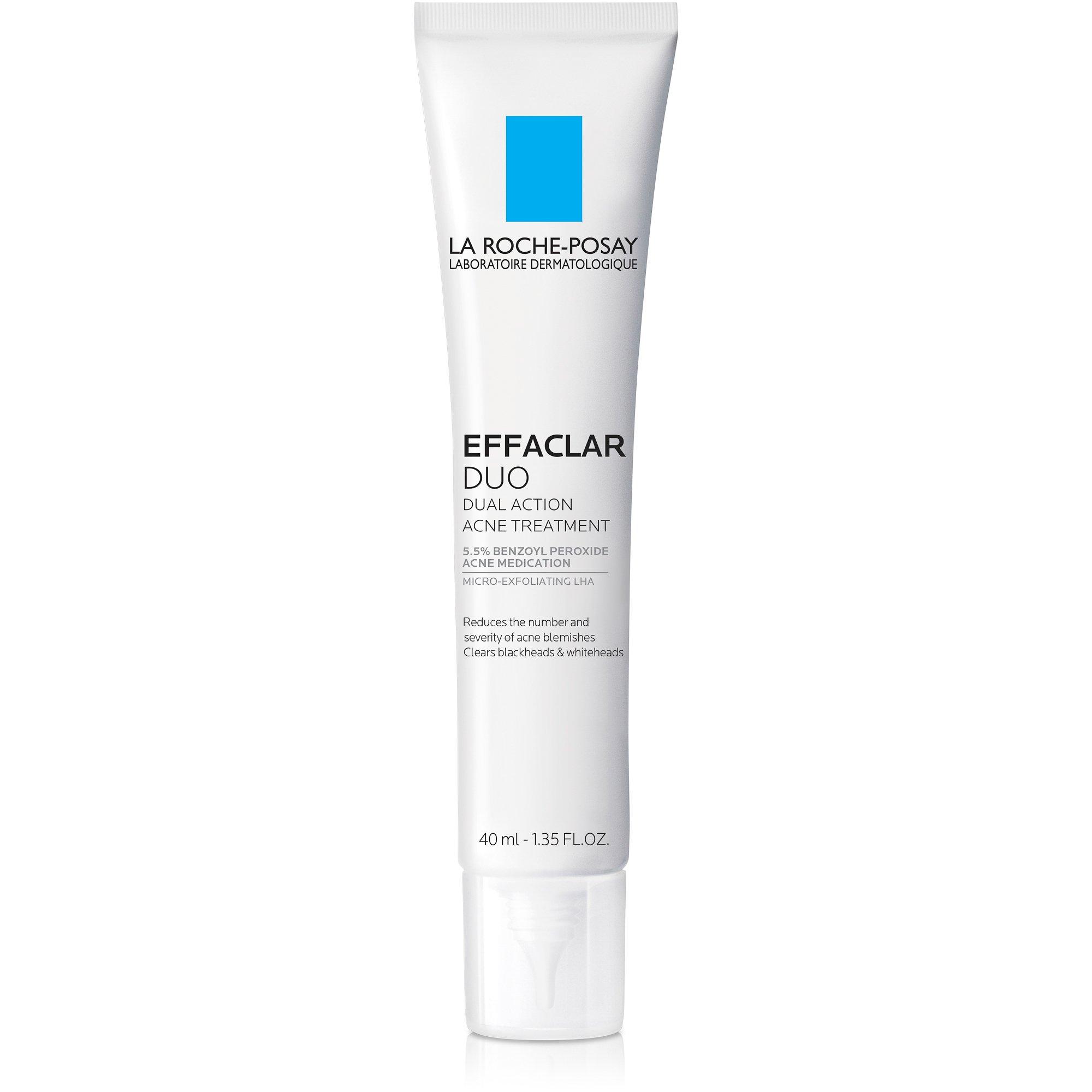 La Roche-Posay Effaclar Duo Acne Treatment with Benzoyl Peroxide, 1.35 Fl. Oz. by La Roche-Posay