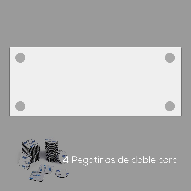 CM-001 Madera Vintage DON LETRA Cabecero de PVC para Cama de 135 cm Impresi/ón Digital de Alta Resoluc/ón 150 x 60 x 1 cm Cabecero Ligero y Econ/ómico