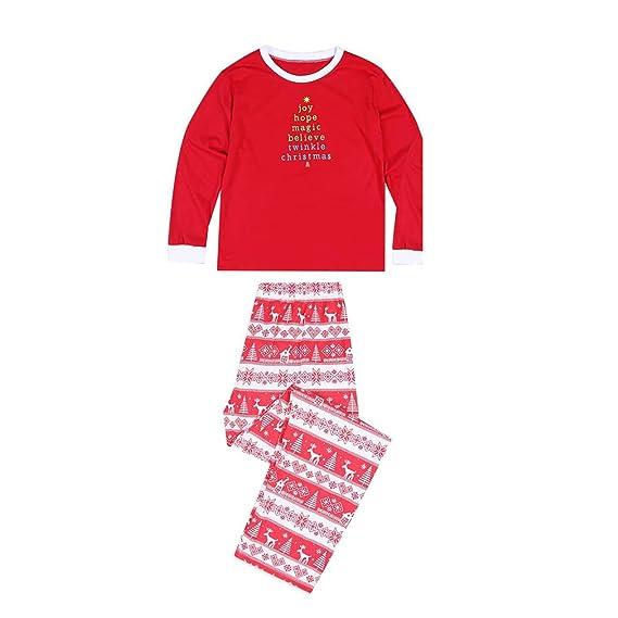 26c8511d6e404 WEIMEITE Nouvel an Famille Noël Pyjamas Famille Assortiment Père Mère Fille  Fille Garçon Vêtements Ensembles Pyjamas