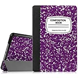 ipad mini cases cheap - Fintie iPad Mini 4 Case - Slimshell Lightweight Smart Stand Protective Cover with Auto Sleep/Wake Feature for Apple iPad Mini 4 (2015 Release), Composition Book Purple