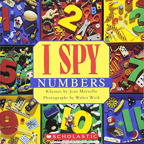 I Spy Numbers cover