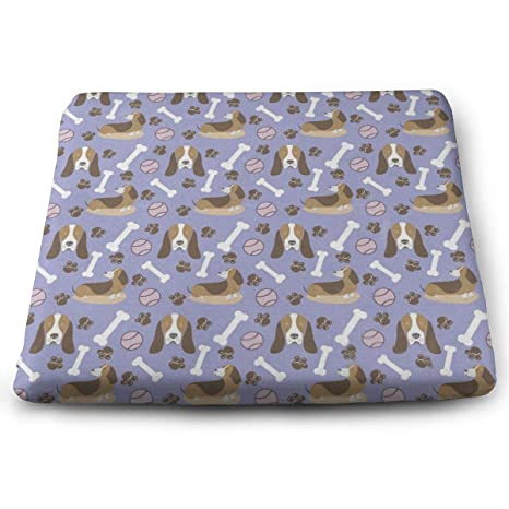 Amazon.com: Cojín de asiento de apoyo cómodo, almohadilla ...