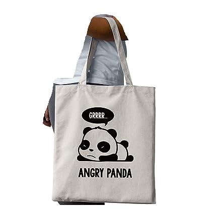 Amazon.com | Lindo Panda bolsa de lona Kawaii Anime de viaje ...