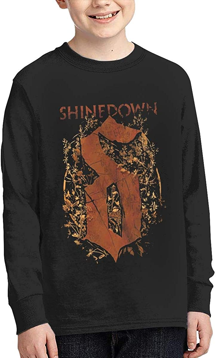 Optumus Shinedown-in-The Stratosphere Kids Sweatshirts Long Sleeve T Shirt Boy Girl Children Teenagers Unisex Tee