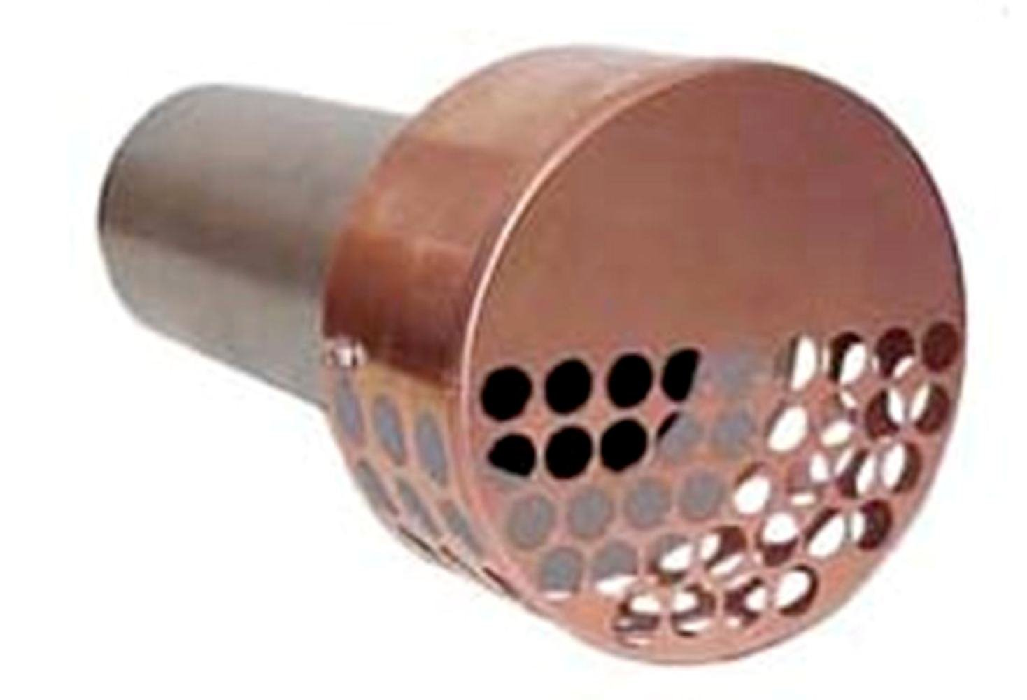 The Forever Cap CCCDRVT 4-Inch Copper Dryer Vent Cover