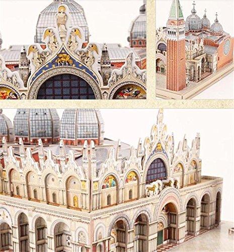 CubicFun Toyland - Maqueta de la Plaza San Marco de Venecia, puzle en 3D, referencia MC209H: Amazon.es: Juguetes y juegos