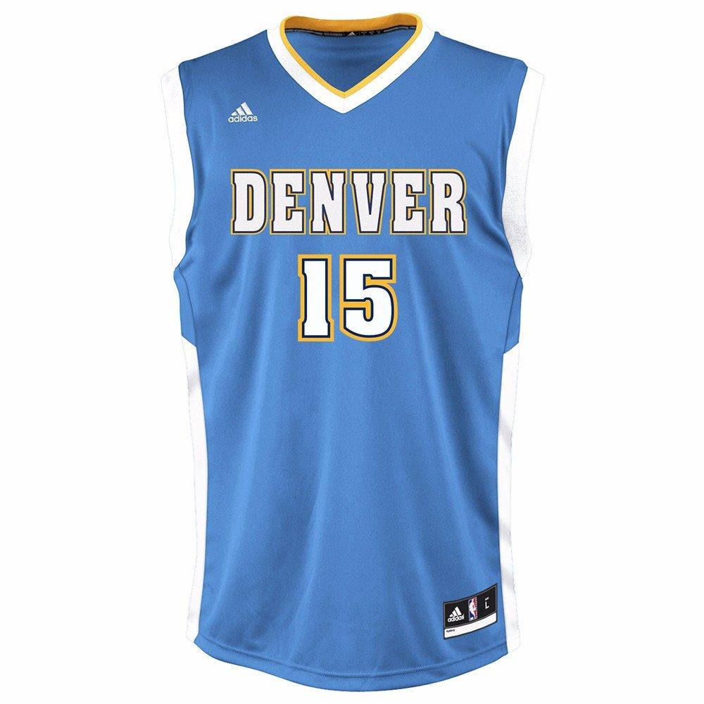 397712fa7 adidas Nikola Jokic Denver Nuggets NBA réplica de la Camiseta Azul de los  Hombres