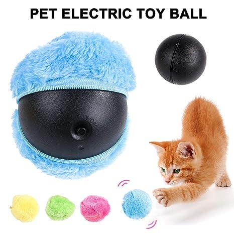 Klinkamz Magic Roller Ball Pelota automática para Perros y Gatos ...