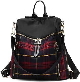 zhongningyifeng Women Backpack Purse Waterproof Nylon Rucksack Lightweight Fashion Casual Travel Ladies Shoulder Bag Daypack