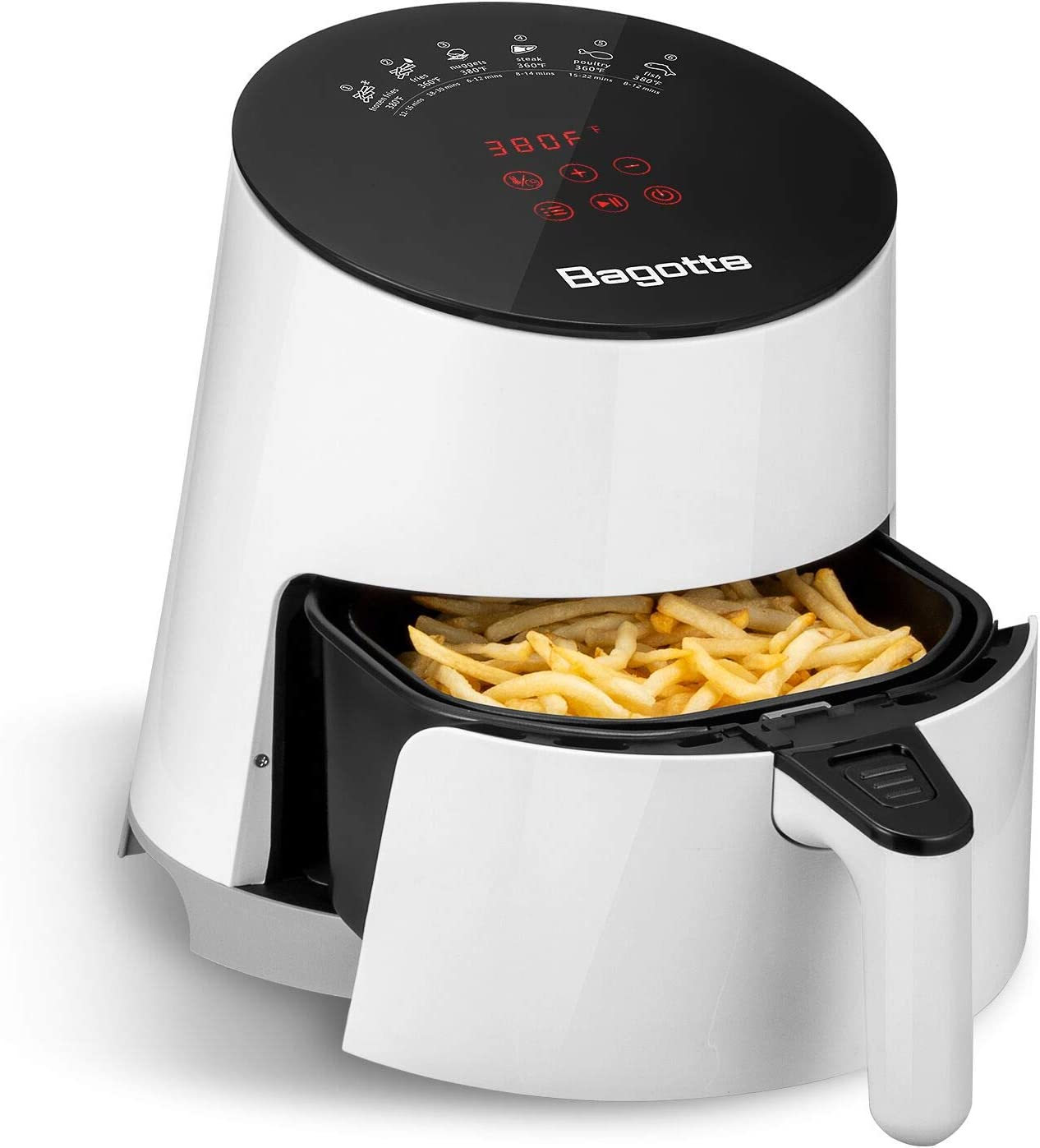 Bagotte 3.7 Quart Air Fryer